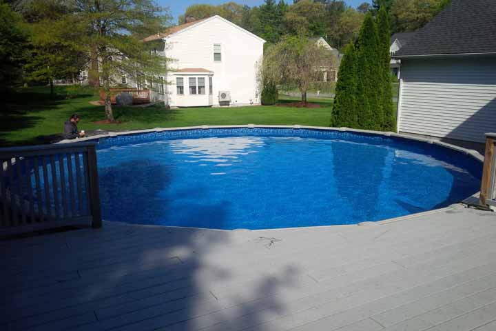 Above Ground Pool Opening Mcm Pool Service Norton Ma